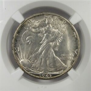 1943-S Silver Walking Liberty Half Dollar NGC MS65 Coin AI929