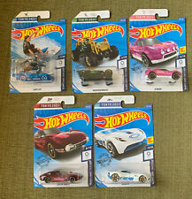 Lot Of 5 Different Hot Wheels 2020 Tokyo Olympics Cars Surf's Up Toyota Velocita