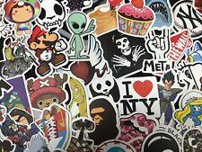 100/300/500X Skateboard Stickers Graffiti Laptop Sticker Luggage Car Decals Mix