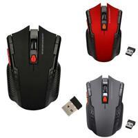 2,4 GHz kabellose schnurlose Maus Mäuse Optische Scroll-Gaming-Maus für PC-Lapto