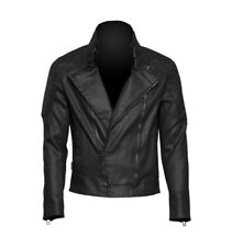 BRAND NEW £110 Queen Of Darkness Black Biker Jacket Goth Gothic Double Zip Punk
