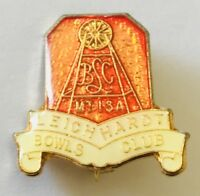 Leichardt Mount Isa Bowling Club Badge Pin Rare Vintage (L30)