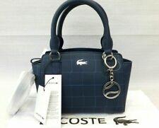 Lacoste Ladies Coated Piqué Canvas Mini Tote Crossbody Bag BNWT