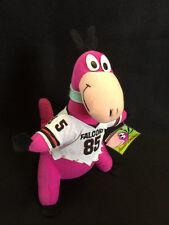 "NWT The Flintstones Dino NFL Atlanta Falcons Plush Jersey #85 10"" 1994"