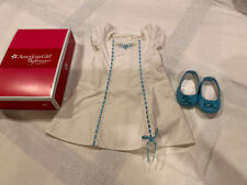 American Girl Doll Caroline's Nightgown With Slippers New Never Used Retired