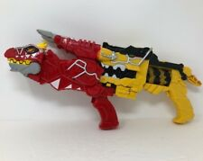 Power Rangers T-Rex Dino Super Charge Morph Blaster Set Electronic Red Yellow