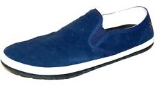 DIESEL Men'sBlue Loafers & Slip Ons Suede Shoes  Size US 12.5 EU 46