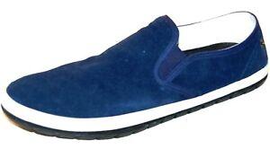 DIESEL Men'sBlue Loafers & Slip Ons Suede Shoes  Size US 12.5 EU 46