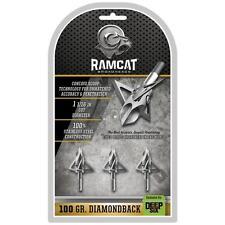 Ramcat Diamondback Deep Six 100 Grain 3 Pack - For Deep 6 Inserts Only