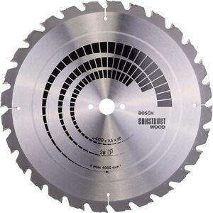 Bosch Kreissägeblatt Construct Wood 400x30x3,5mm , Bau, nagelfest(2 608 640 693)