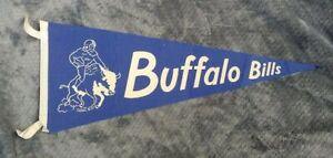 Keezer AAFC Buffalo Bills Rare FULL SIZE PENNANT VINTAGE Memorabilia 1950s 1960s