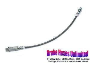 STAINLESS REAR BRAKE HOSE Chevrolet Impala, 1965