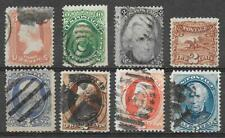 USA interesting lot of 8 different classic stamps very nice quality see scans