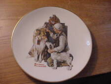 "Vintage 1981 Norman Rockwell Collector Plate ""Making Friends"" The Danbury Mint"