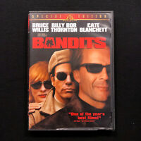 BANDITS Special Edition DVD featuring Bruce Willis and Billy Bob Thorton
