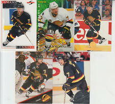 CLIFF RONNING -  VANCOUVER CANUCKS