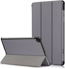 Samsung Tab S6 Lite Flip Cover Trifold PU Leather Stand Protective Flip Case