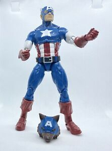 Marvel Legends Captain America Wolf Red Skull Onslaught Wave Cap Wolf