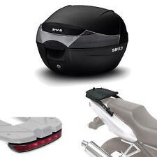 Kit fijacion y maleta baul trasero + luz de freno regalo SH33 compatible con DE