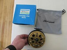 "excellent shakespeare 2900-600 golden eagle centrepin trotting fishing reel 5"" ."
