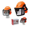 Forsthelm Classic / Comfort / Premium wählbar Gehörschutz Gesichtsschutz Helmset
