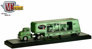 M2 MACHINES 1:64 AUTO-HAULERS FOOSE RELEASE 18 1956 Ford C-500 COE & F-100 Truck