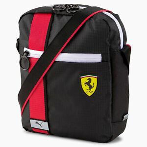 Tracolla Puma Ferrari 077326-02 Nero-Bianco-Rossa