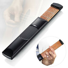 Portable Travel Pocket Acoustic Guitar 6 String 4 Fret Model Practice Guitar