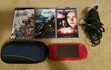 Sony PSP 2000 God of War Entertainment Pack 64MB Red Handheld System