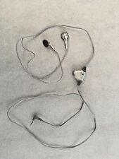 AS IS Headphones Earbuds 2.5mm Wired with Volume Control On Off Switch