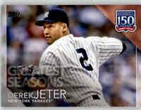 2019 Topps Update DEREK JETER 150 Years Greatest Seasons Yankees #150-80