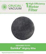 1 Eureka Vacuum MM Motor Filter Fits Mighty Mite Sanitaire Models 3600 # 38333