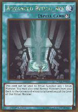 Yu-Gi-Oh Card - PGL2-EN050 - ADVANCED RITUAL ART (gold rare holo) - NM/Mint