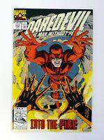 DAREDEVIL #312 Marvel Comics Into The Fire NM+ 1993