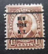 US-New York Precancel- Harding 1.5c issue-Used