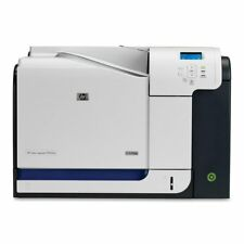 HP Colour LaserJet CP3525N CP3525 A4 Network Ready Laser Printer No Toners
