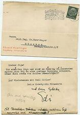 04504 - Stempel: Fernsprecher spart Zeit und Geld - Augsburg 9.3.1938 -Postkarte