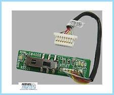 Scheda tasto accensione HP MINI 2133 - pulsante interruttore switch power button