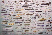 Jigsaw puzzle Airplane Evolution of Military Aircraft 2000 piece NEW made in USA