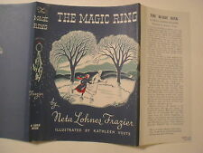 The Magic Ring, Neta Lohnes Frazier, Dust Jacket Only