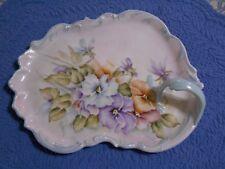 Verla Franchi Decorative Plate Floral Plate Trinket Dish or Jewelry Holder