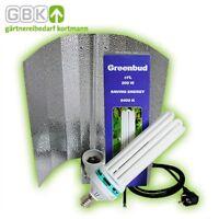 Greenbud 200W Blau Wuchs Energiesparlampe ESL CFL Grow Pflanzenlampe