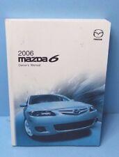 06 2006 Mazda 6 owners manual