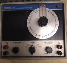 EICO Solid State Fet Sine/Square Wave Generator 379 USED POWERS ON