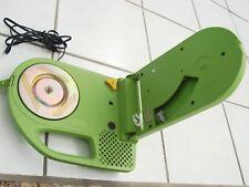 Vintage Panasonic SG-200 Portable Record Player Green Plastic Rare