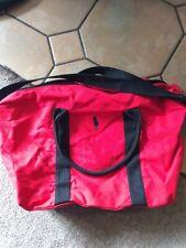 New listing Mens Ralph Lauren Gym Messenger Hold-all Bag Large Red Black Limited Edition