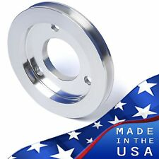 BBC Crankshaft Pulley V-Belt SWP 396 427 454 Crank 1 Groove Billet Aluminum