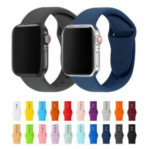 Cinturino per APPLE WATCH  1 2 3 4 5 6 in Silicone High Quality 38 40 42 44 mm