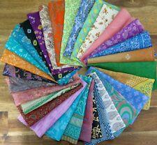 Mixed silk fabric scraps, silk offcuts, silk remnants