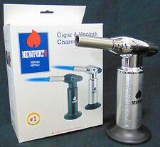 "Newport Zero Gas Butane 8"" Cigar/ Kitchen/ Chef Torch Lighter Multi Use NBT020"